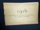 Documents de la section photographique de l'armée française : 1916.