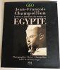 L'Egypte : lettres et journaux du voyage en Egypte. Champollion Jean-François  Champollion Hervé