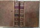 Tableau de l' Histoire de France (de la monarchie au Règne de Louis XVI) éditon augmentée en 2 volumes.