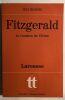 Fitzgerald : la vocation de l' échec. Bessière Jean
