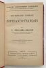 Dictionnaire complet Esperanto-Francais. Grosjean-Maupin