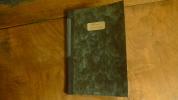"""Chansons manuscrites"". Anonyme"
