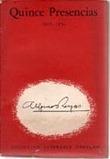 Quince presencias 1915-1954. REYES Alfonso