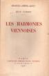 Les harmonies viennoises. CASSOU Jean