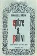 Epître à Paul VI. Lettre ouverte au Pape sur la pilule. ARSAN Emmanuelle