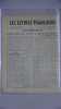 Les lettres françaises. Revue des écrivains français groupés en Comité national des écrivains.  N° 14. Mars 1944. Les lettres françaises