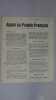 Appel au Peuple Français... L année 1942 sera l année de la délivrance.... Tract - Résistance