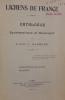 Lichens de France. Catalogue systématique et descriptif. III- Stratifés-radiès. Radiés. . HARMAND (abbé J.)