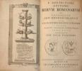 L. Annaei Flori Epitome rerum romanarum. Ex recensione Joh. Georgii Graevii... Accessit praeter Ampelium libellumque varr. lect. ... praefatio Joh. ...