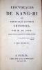 Les Voyages de Kang-Hi ou Nouvelles lettres chinoises.Seconde édition augmentée de plusieurs lettres.. [LEVIS (Pierre-Marc-Gaston, duc de)]