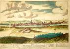 Vue de la ville de Metz. . CHEREAU (Jacques)