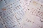 4 Lettres Autographes Signées adressées à Michel Simon CHEVALIER, négociant drapier à Colmar. .