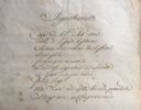 Avis de recherche : L. S. Géraud-Antoine-Hippolyte de MURAT, Préfet du Nord, au Sous-Préfet de Dunkerque concernant le sieur ROUMAGE, évadé le 28 du ...