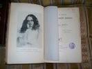 LA VIE et l'oeuvre d'Elizabeth Barrett Browning.. MERLETTE Germaine-Marie
