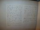 CHARTREUSES D'ANGLETERRE. (manuscrit).