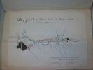 ETATS PONTIFICAUX. Projet d'un chemin de fer à établir de Rome à Tivoli, longueur totale 27 kilomètres. Mémoire pour servir à l'avant-projet à étudier ...