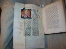 BIBLIOTHEQUE PROTYPOGRAPHIQUE ou librairies de fils du Roi Jean, Charles V, Jean de Berri, Philippe de Bourgogne et les siens. RECHERCHES SUR LES ...