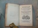 ABREGE CHRONOLOGIQUE de l'Histoire des Eglises d'Orient et d'Occident; les Conciles généraux et particuliers, les auteurs ecclésiastiques, les ...