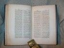 DICTIONNAIRE abrégé de la Bible de Chompré. Nouvelle édition revue et considérablement augmentée par Petitot.. CHOMPRE