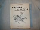 CHASSES ET PECHES souvenirs et croquis.. OBERTHUR