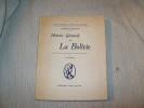 HISTOIRE générale de la Bolivie. Traduite de l'espagnol, résumée et adaptée au français par S Dilhan.. ARGUEDAS Alcides