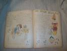 SOUVENIR DU 99e DE LIGNE 8e Compagnie 2e Bataillon. Cahier de chansons, manuscrit illustré et colorié. 1912..