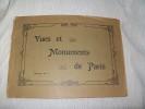VUES ET MONUMENTS DE PARIS Marque G.I.