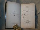 RUY BLAS. Oeuvres complètes de Victor Hugo, drame, Tome VII.. HUGO Victor