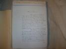 MARTINIQUE Correspondance inédite originale 1853-1867..