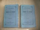 LES PERES DU DESERT. Ouvrage traduit de l'allemand en français avec l'autorisation de l'Auteur par J Turck.. HAHN-HAHN Comtesse Ida