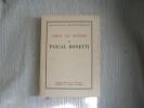 CHOIX DE POESIES de Charles Bonetti.. BONETTI Pascal