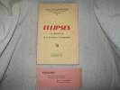 ELLIPSES. Florilège de la littérature contemporaine.. GALLONI d'ISTRIA Yvonne et Paul