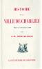 HISTOIRE DE LA VILLE DE CHARLIEU DEPUIS SON ORIGINE JUSQU'EN 1789. DESEVELINGES J. B.