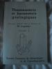 THERMOMETRIE et BAROMETRIE GEOLOGIQUES. ouvrage collectif sous la direction de MARTINE LAGACHE