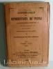 Biographie des représentants du peuple à l'Assemblée Nationale Constituante par ordre alphabétique avec un tableau des députations par départements ...