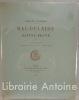 Baudelaire et Sainte-Beuve. Nouvelle édition augmentée de notes et d'un chapitre inédit.. Vandérem (Fernand).