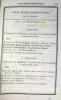 Etat général de la marine et des colonies pour l'année 1826.. [ANNUAIRE DE LA MARINE].