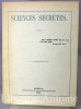 Sciences secrètes. Catalogue de la bibliothèque d'Alexis Ouvaroff. (Gutemberg Reprint 1980). [ESOTERISME - BIBLIOTHEQUE OUVAROFF]