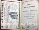 Agenda Oppermann 1908 à l'usage des ingénieurs, architectes, agents-voyers, conducteurs de travaux, mécaniciens, industriels, entrepreneurs.. [AGENDA]