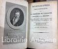 Nosographie philosophique ou la méthode de l'analyse appliquée à la médecine, par M. Ph. Pinel [...].. PINEL (Philippe).