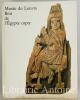 Catalogue des bois de l'Egypte copte au musée du Louvre. . Rutschowscaya (Marie-Hélène)