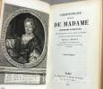 Correspondance de Madame la Duchesse d'Orléans.. ORLEANS (Elisabeth-Charlotte d')