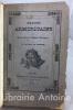 Chants armoricains ou souvenirs de Basse-Bretagne par M. Boucher de Perthes.. BOUCHER DE PERTHES (pseudonyme de Jacques Boucher de Crèvecoeur).