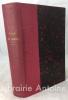 Manava-Dharma-Sastra. Lois de Manou comprenant les institutions religieuses et civiles des indiens suivies d'une notice sur les vedas traduites du ...