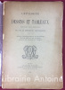 Catalogue de dessins et de tableaux provenant de la collection de M. feu Hippolyte Destailleur. Dessins d'architecture et de décoration, vues de Paris ...