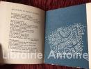 La Vie reculée. Poëmes de Claude Haeffely. gravures de Anne Kahane.. HAEFFELY (Claude) et KAHANE (Anne)