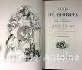 Fables de Florian illustrées par J. J. Grandville suivies de Tobie et de Ruth, poèmes tirées de l'Ecriture sainte et précédées d'une notice sur la vie ...