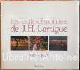 Les autochromes de J.-H. Lartigue 1912-1927.. LARTIGUE (Jacques-Henri)