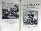 Les Pastorales. Traduites intégralement par Gabriel Soulages. Bois originaux de J.-B. Vettiner.. THEOCRITE. VETTINER (Jean-Baptiste)