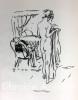 Notes sur l'amour avec dessins originaux de Pierre Bonnard gravés sur bois par Yvonne Mailliez.. ANET (Claude). BONNARD (Pierre)